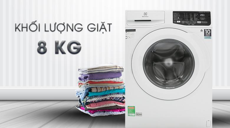 Máy giặt 8 Kg Electrolux EWF8025EQWA