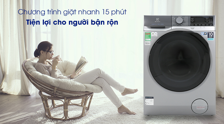 Máy giặt Electrolux Inverter 11 kg EWF1141SESA