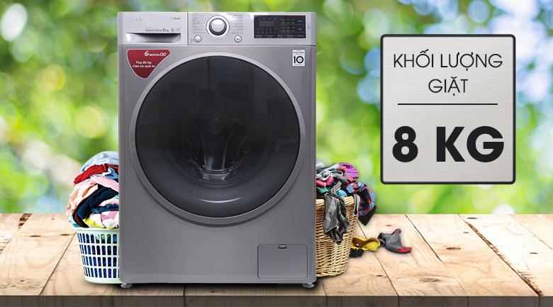 Máy giặt LG Inverter 8 kg FC1408S3E