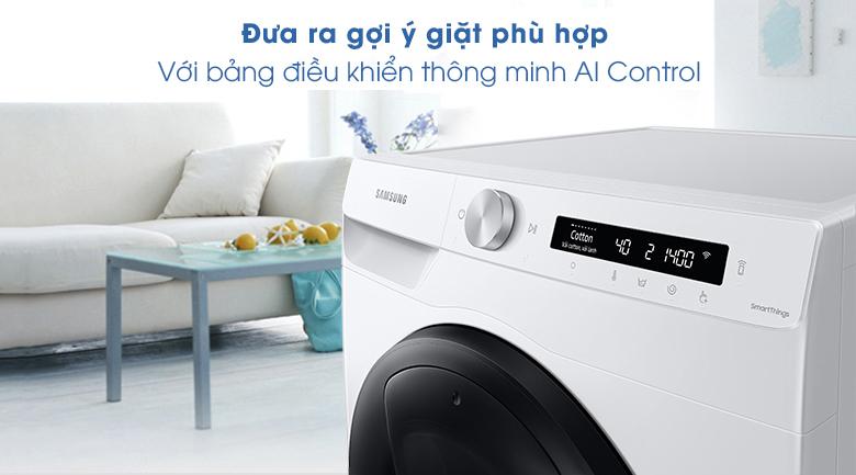 Máy giặt Samsung Addwash Inverter 8.5kg WW85T554DAW/SV