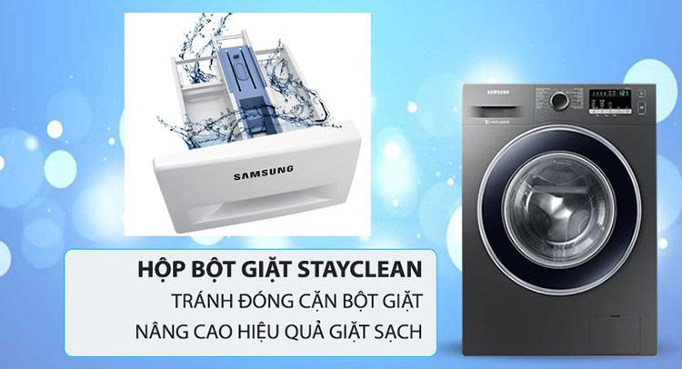 Máy Giặt Samsung Inverter WW85J42G0BX/SV
