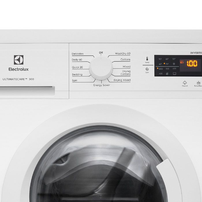 Máy giặt sấy Electrolux Inverter 8 kg EWW8025DGWA
