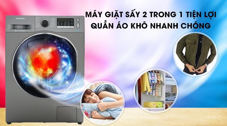 Máy giặt sấy Inverter Samsung WD95K5410OX/SV