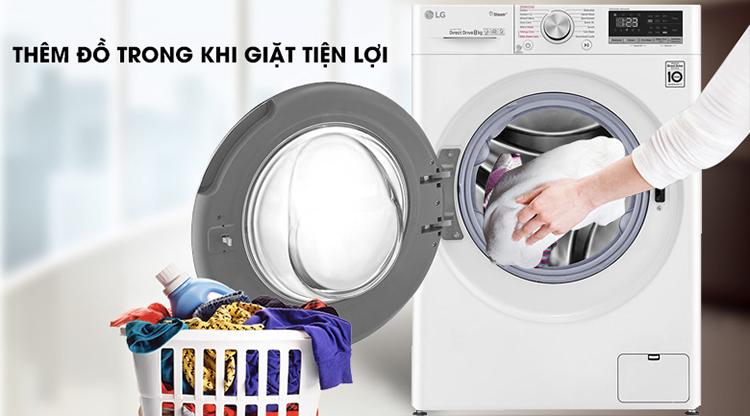 Máy Giặt Sấy LG Inverter 8.5 Kg FV1408G4W