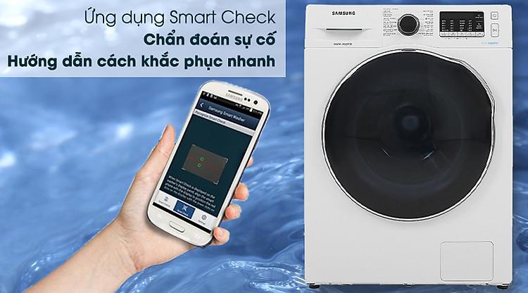 Máy giặt sấy Samsung Inverter 9.5kg WD95J5410AW/SV