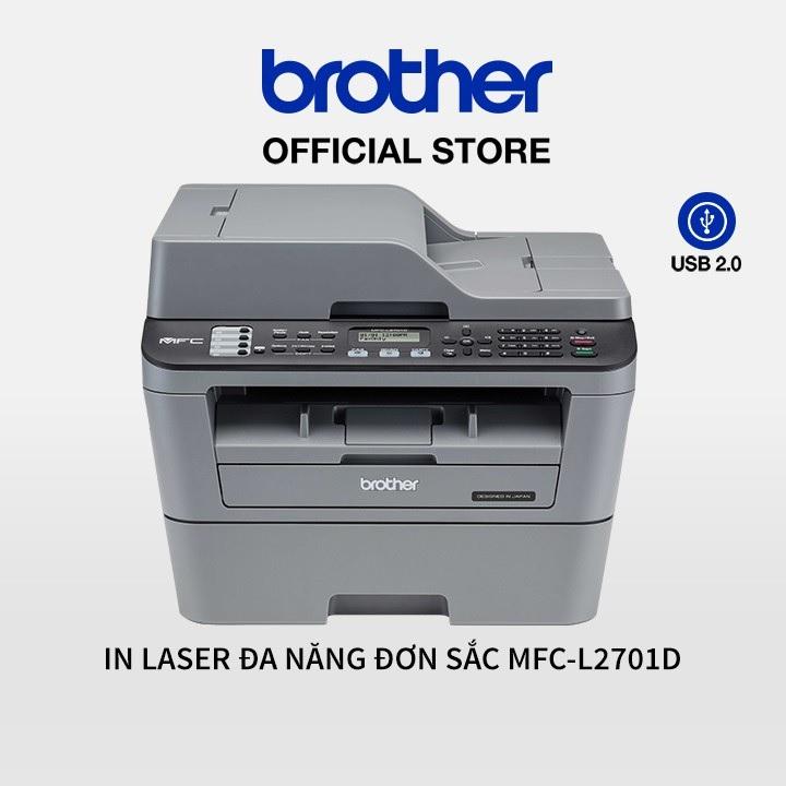 Máy in laser đa năng Brother MFC-L2701D