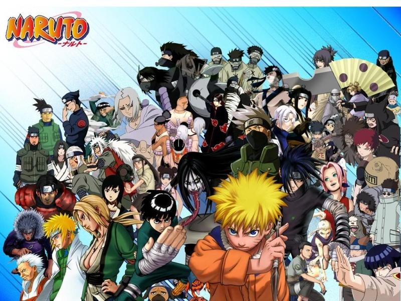 Dàn nhân vật trong Naruto