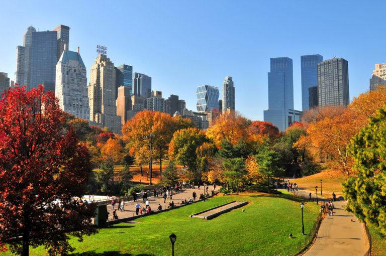 Central Park (Công viên trung tâm) ở New York