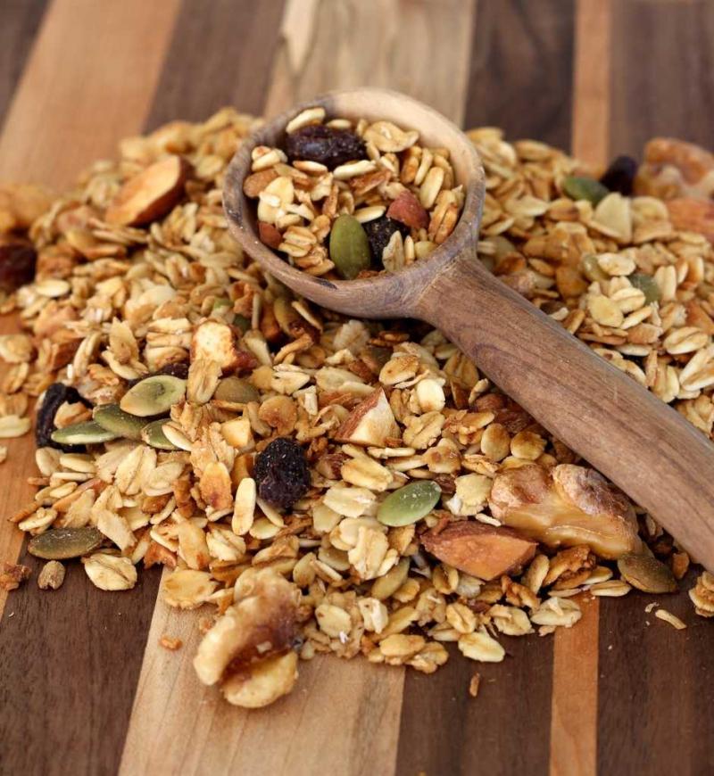 Ngũ cốc ăn kiêng granola nhà làm tại Đà Nẵng