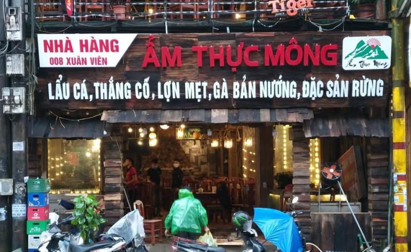 Nhà hàng ẨM THỰC MÔNG Sa Pa