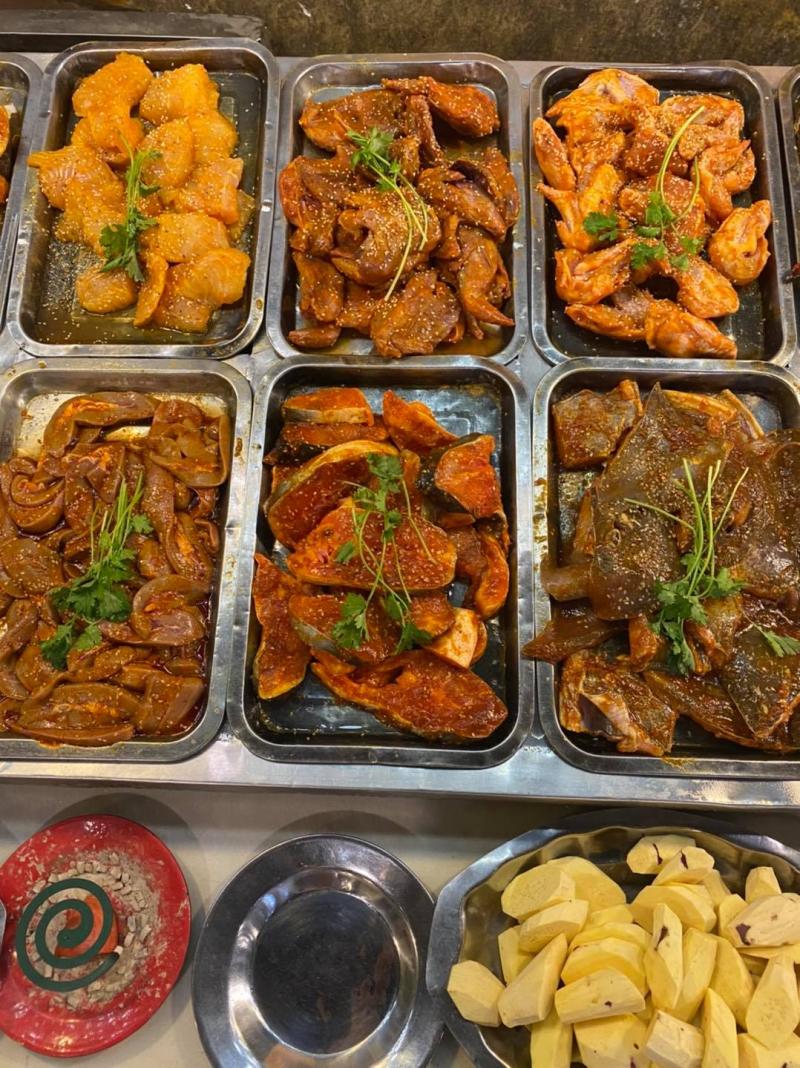 Nhà hàng Buffet Nướng 119K Alibaba