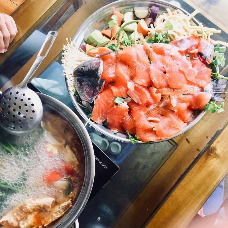 Nhà hàng cá hồi Sapa Hoa Đào