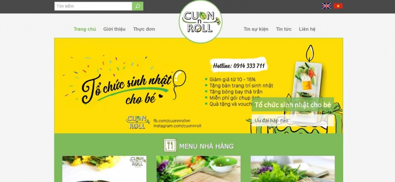 Nhà hàng Cuốn N Roll