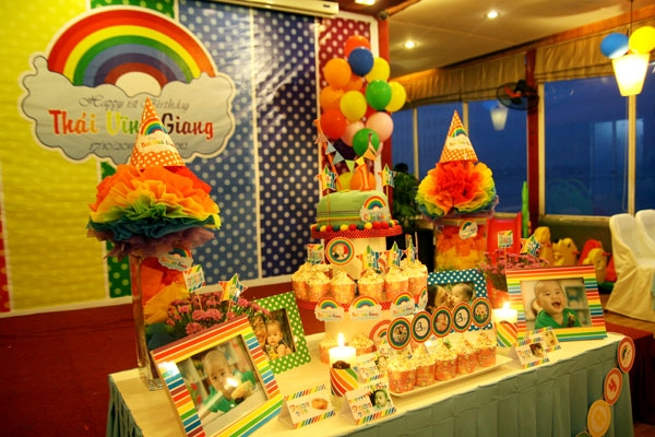 Tổ chức sinh nhật tại Eureka
