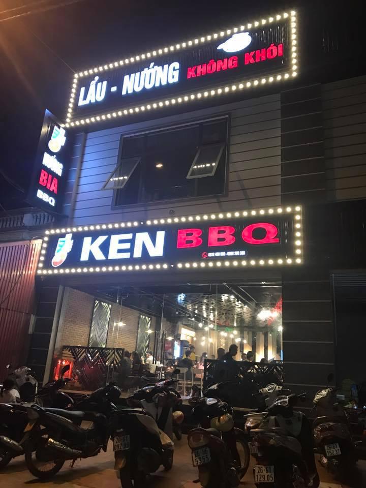Không gian nhà hàng Ken BBQ