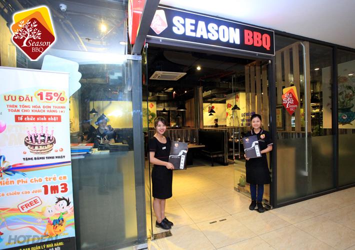 Nhà hàng Season BBQ - Bà Triệu