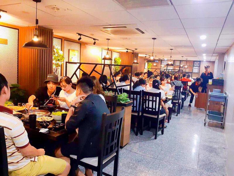 Nhà hàng Sunrise – BBQ & Hotpot – Bạch Đằng