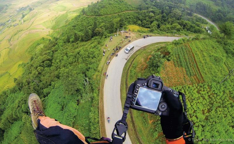 Toàn cảnh đèo Khau Phạ