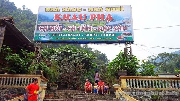 Nhà nghỉ Khau Phạ