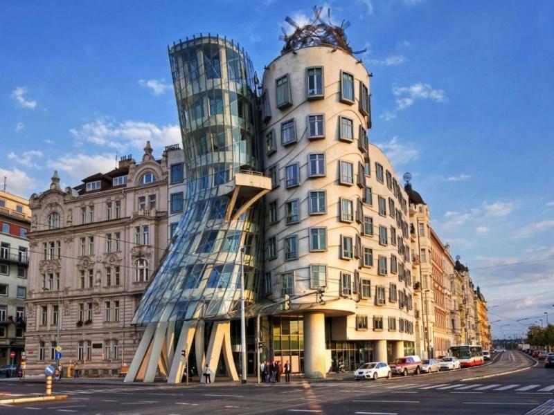 Cổ kính, hiện đại của ngôi nhà nhảy múa tại Czech