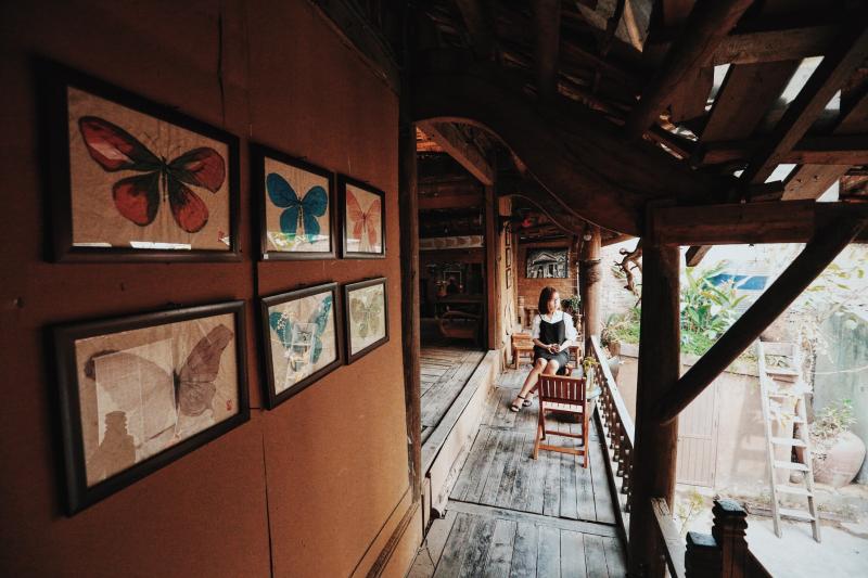 Nhà sàn Art cafe