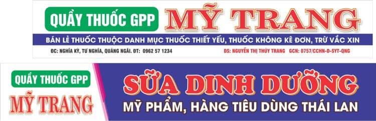 Nhà thuốc GPP Mỹ Trang
