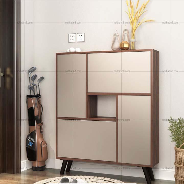 Thiết kế tủ độc dáo và màu sắc sang trọng