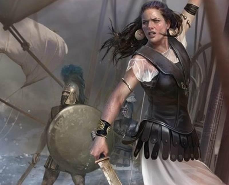 Nữ hoàng Teuta của Illyria