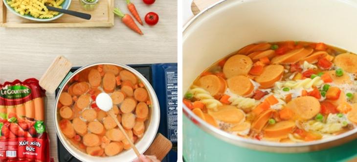 Top 6 Cách nấu món nui nước ngon, hấp dẫn cho bữa sáng
