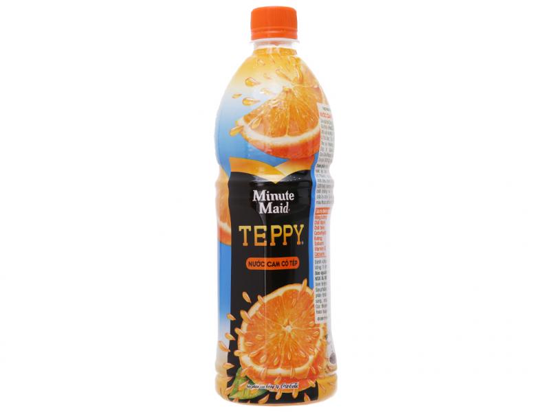 Nước cam có tép Teppy