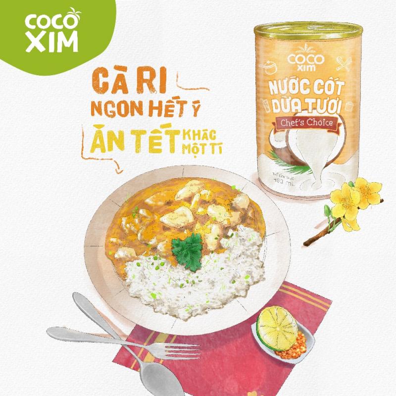 Nước cốt dừa Cocoxim