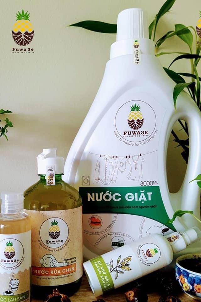 Nước giặt Fuwa3e hữu cơ organic