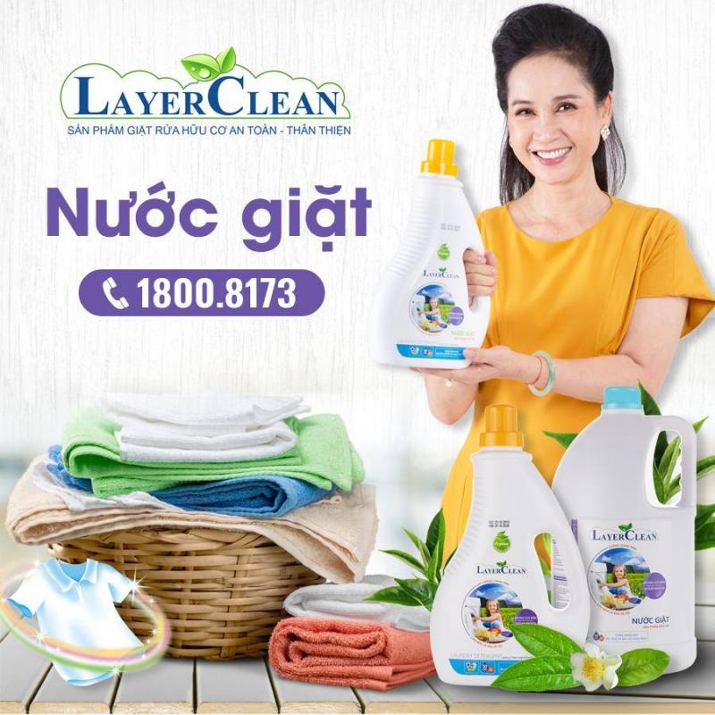Nước giặt hữu cơ Layer Clean