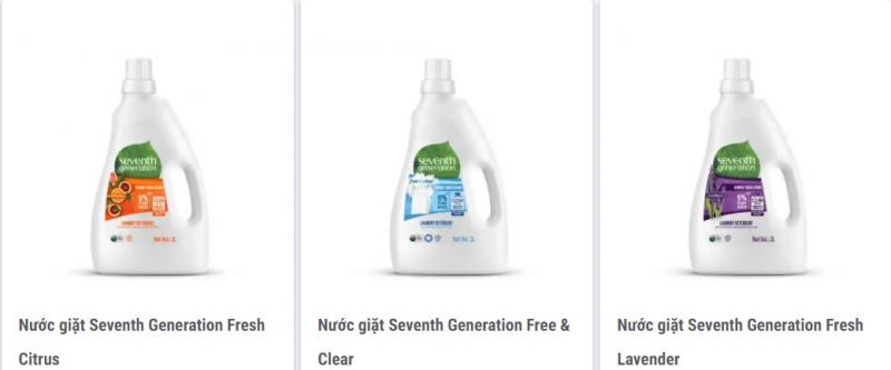 Nước giặt hữu cơ Seventh Generation