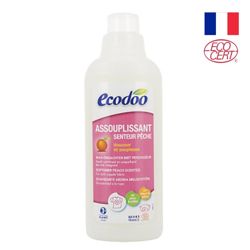 Nước xả vải hương đào hữu cơ Ecodoo