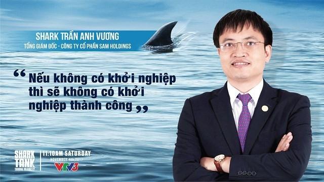 Ông Trần Anh Vương và câu slogan của ông tại Thương vụ bạc tỷ