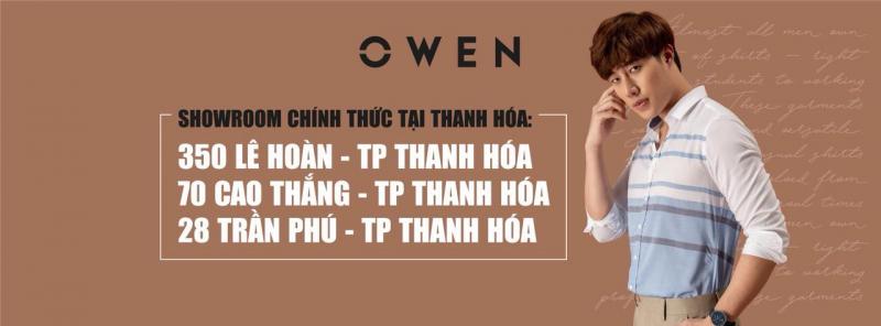 Owen Thanh Hóa có 3 showroom chính thức.