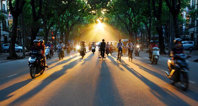 Đường Phan Đình Phùng - con đường lãng mạn nhất Hà Nội