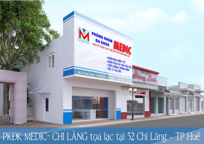 Phòng khám đa khoa Medic -Huế