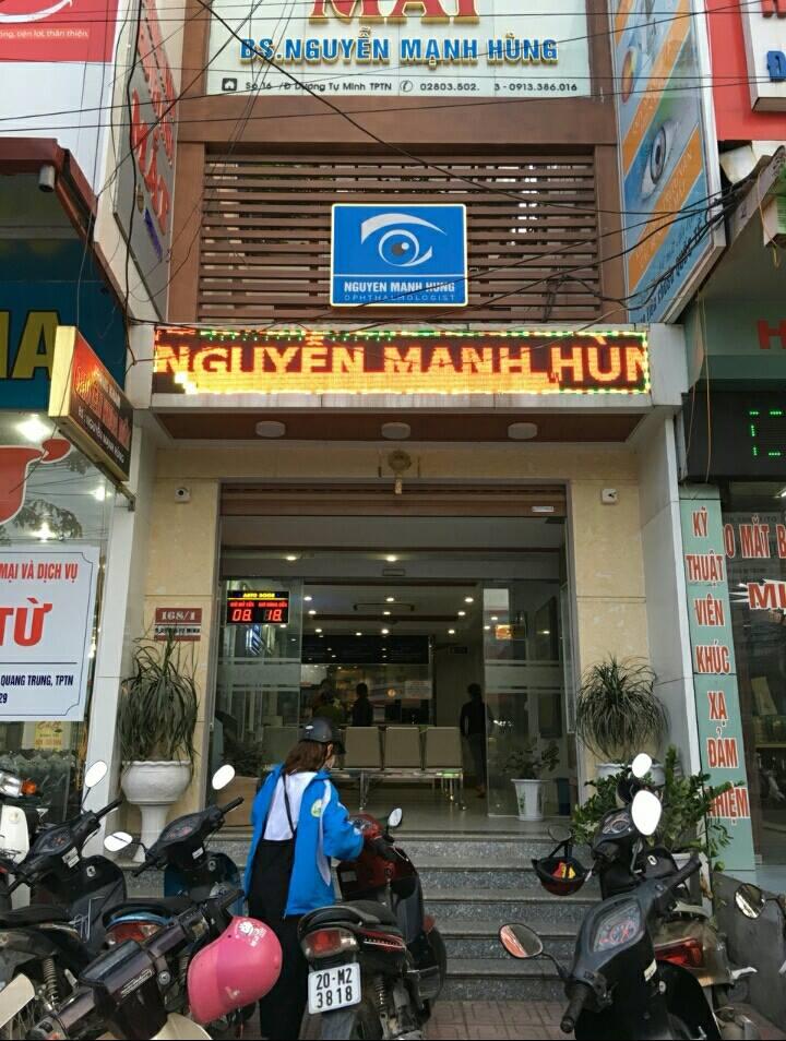 Phòng Khám Mắt Eyes Life - Bs Nguyễn Mạnh Hùng