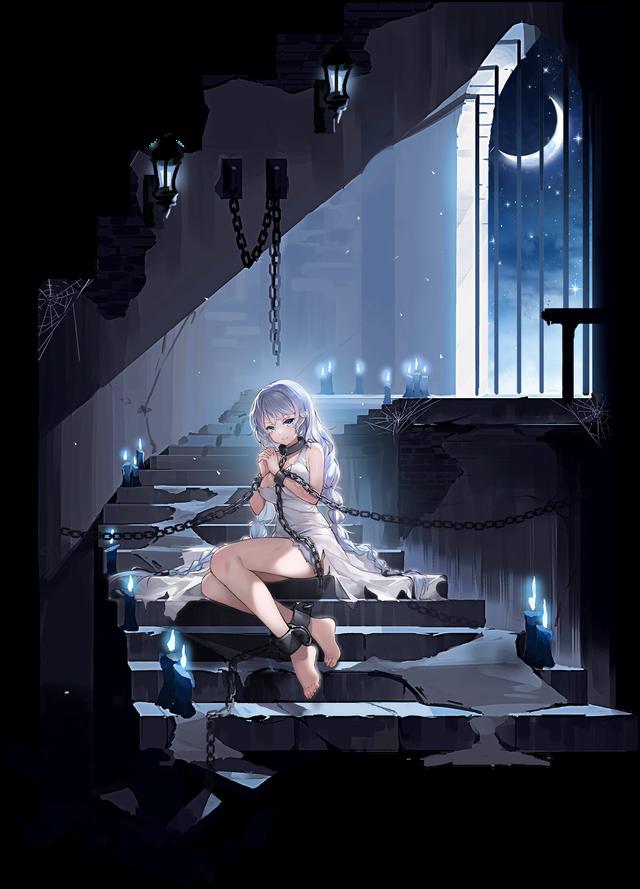Ngắm gái xinh Azur Lane phiên bản nữ tù nhân chờ anh hùng tới giải cứu mỹ nhân - Ảnh 1.