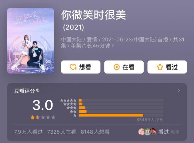 """""""Em Đẹp Nhất Khi Cười"""" bị chấm 3/10 điểm trên Douban, đến cả khán giả """"ngoài ngành"""" Esports cũng chê bai không ngớt"""