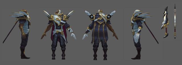 """Game thủ phấn khích khi phát hiện trang phục Pyke Ánh Sáng Tối Cao rất giống với """"Siêu Nhân Khủng Long Trắng"""""""