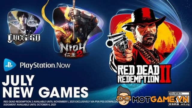 Read Dead Redemption 2 và God of War lên PlayStation Now tháng 7/2021