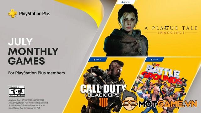 PS Plus: Những game miễn phí sẽ xuất hiện trong tháng 7 - Mọt Game