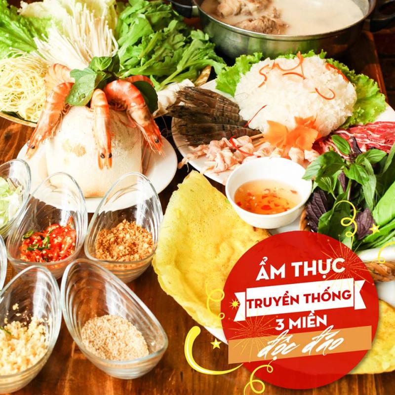 Top 7 Quán ăn chuyên ẩm thực ba miền ngon nhất ở Hà Nội