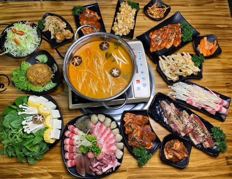 Isushi BBQ là một trong những quán ăn được yêu thích tại Việt Trì, Phú Thọ