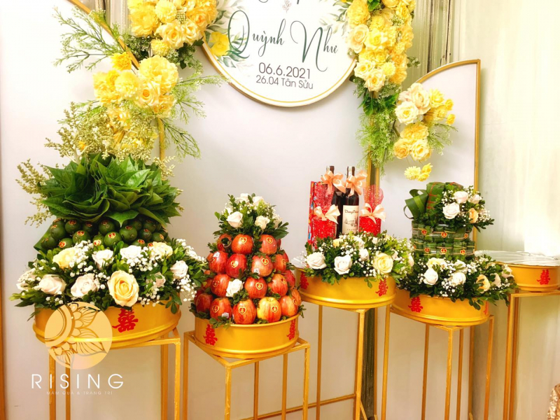 Top 10 Địa chỉ nhận làm tráp cưới đẹp nhất Đà Nẵng