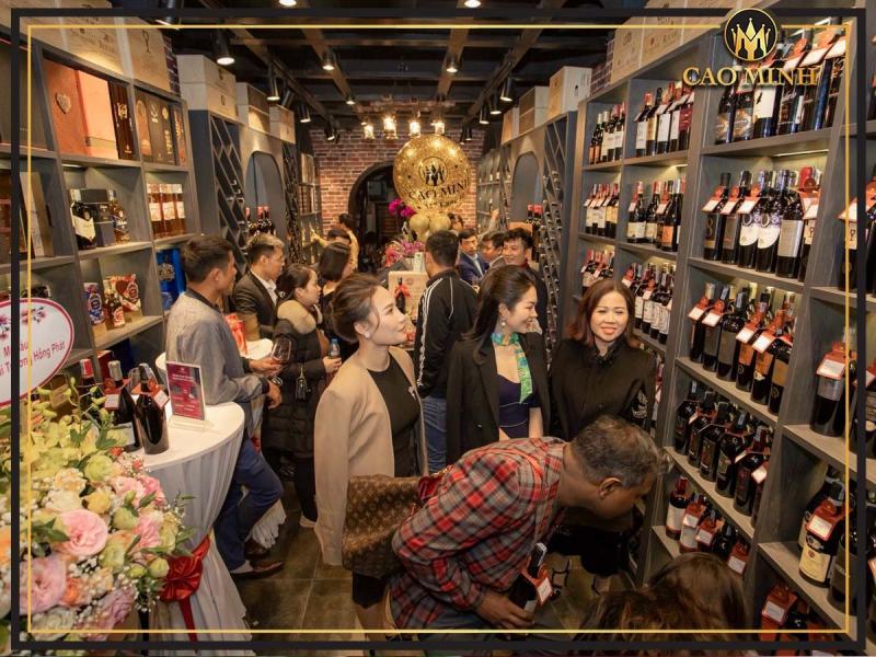 Rượu vang Cao Minh