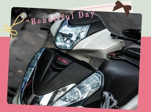 xe dán decal tại Shop đồ chơi xe máy Minh Đức
